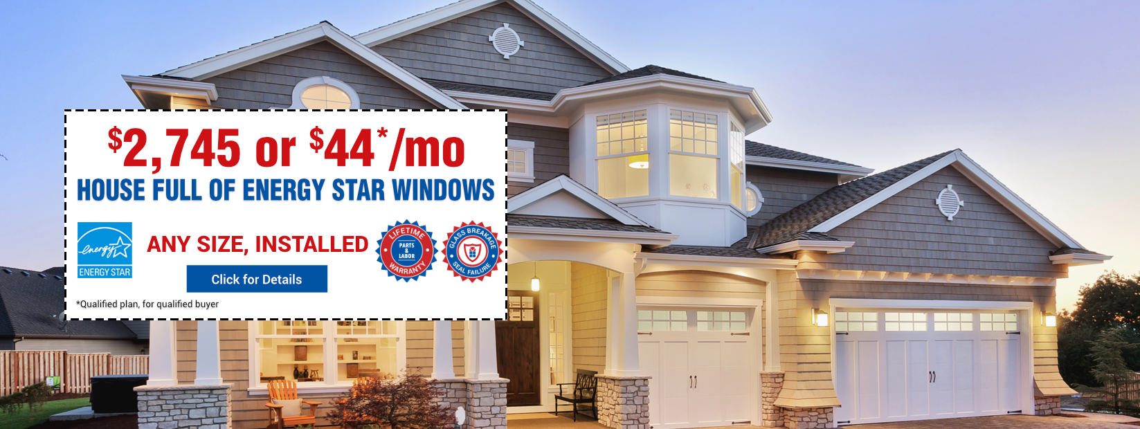 Vinyl Double-hung  Windows