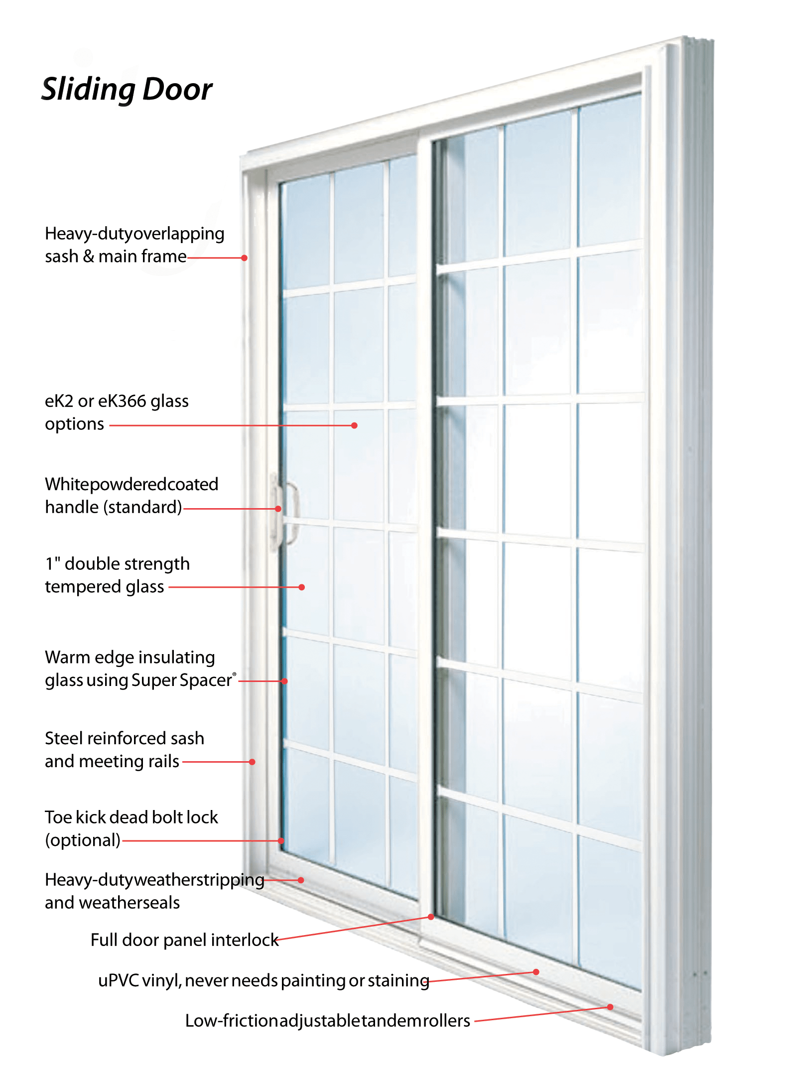 Albany Sliding Door