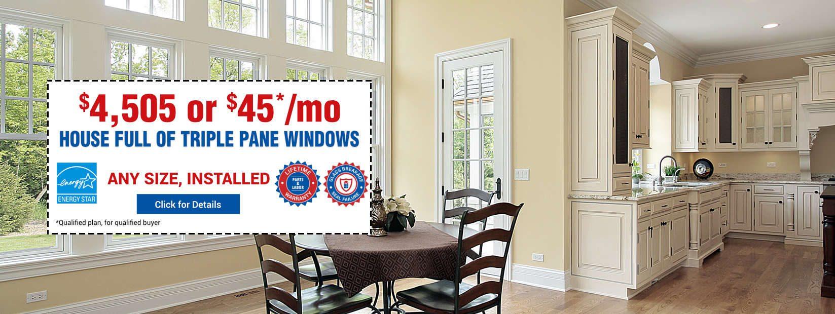 House Full Triple Pane Windows
